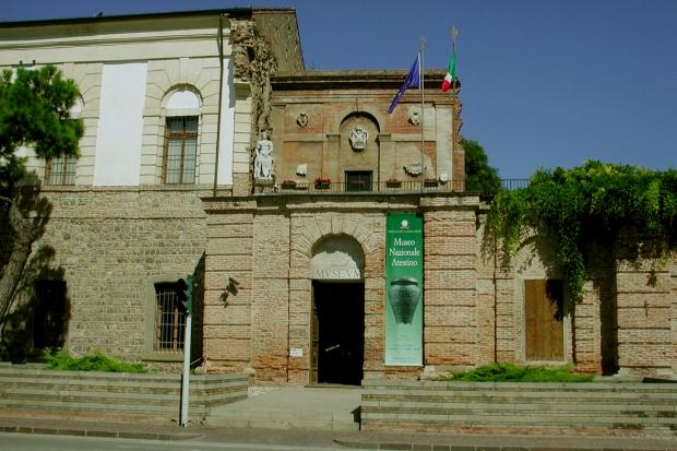 MUSEO atestino ENTRATA senza strada