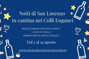 Notti di San Lorenzo in cantina nei Colli Euganei(1)
